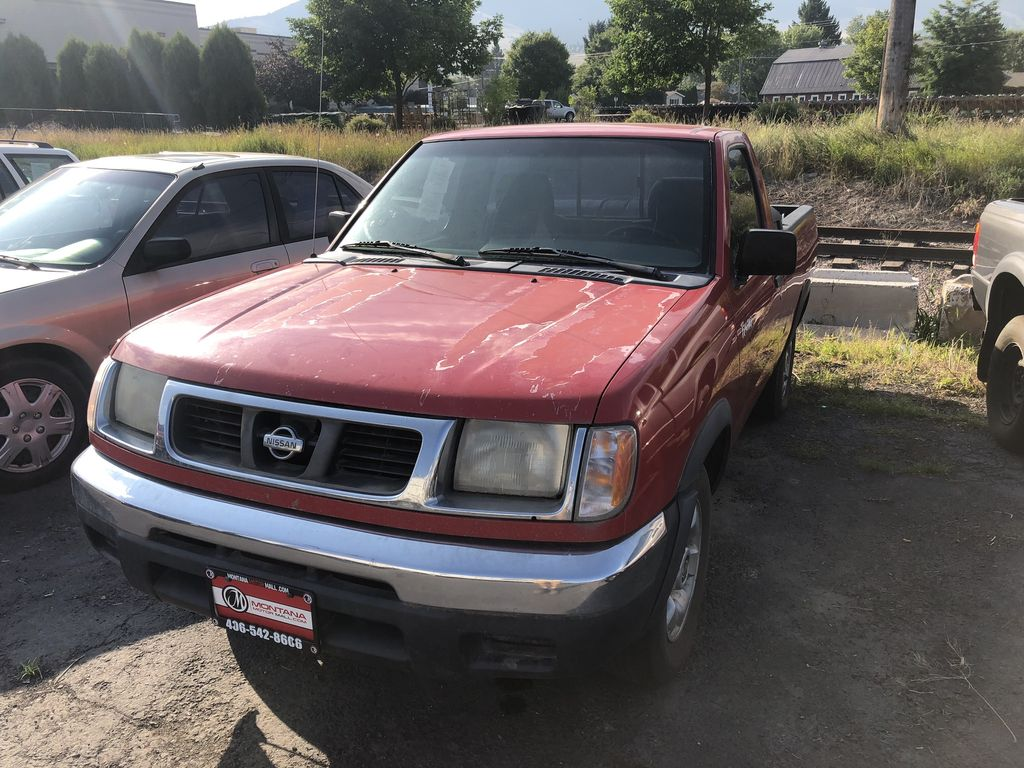 2000 Nissan Frontier 2 Dr XE Standard Cab SB
