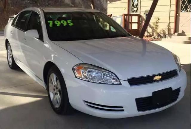 2011 Chevrolet Impala  for sale VIN: 2G1WF5EK7B1319525