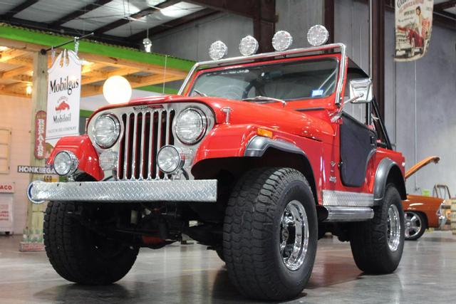 1977 Jeep CJ5 9
