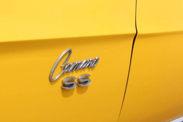 1969 Chevrolet Camaro Convertible 13