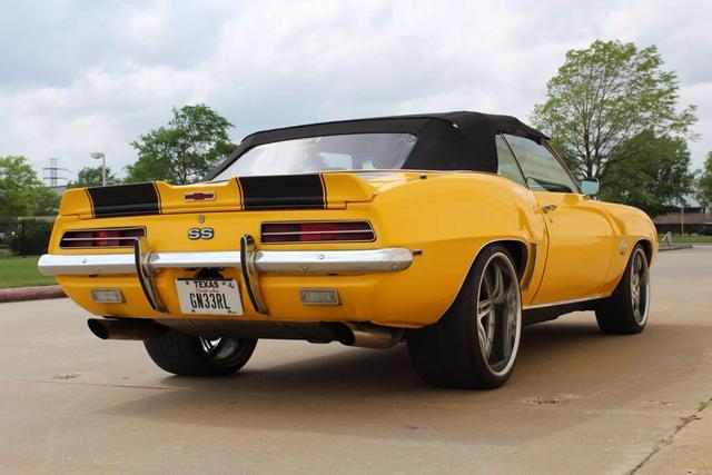 1969 Chevrolet Camaro Convertible 5