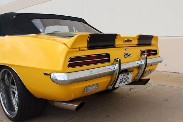 1969 Chevrolet Camaro Convertible 41