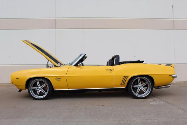 1969 Chevrolet Camaro Convertible 58