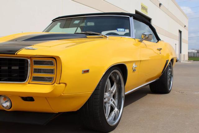 1969 Chevrolet Camaro Convertible 11