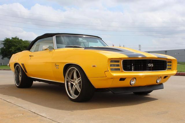 1969 Chevrolet Camaro Convertible 6