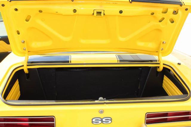1969 Chevrolet Camaro Convertible 38