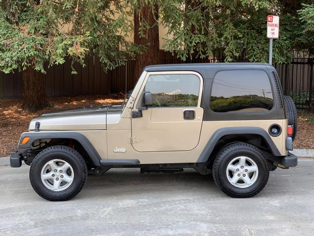 2003 Jeep Wrangler X Sport Utility 2D